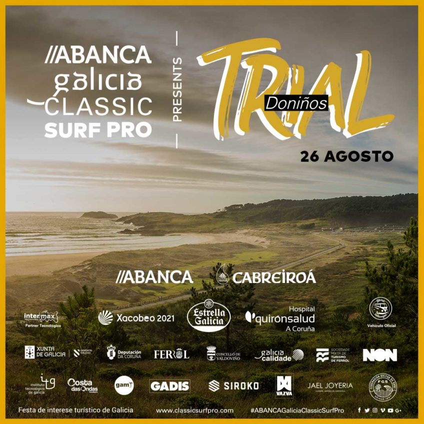 Galicia Classic Surf Pro presenta Trial Doniños