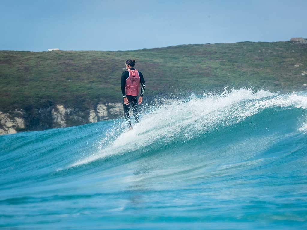 The Longboard's elite date in the semifinals of the ABANCA Galicia Classic Surf Pro