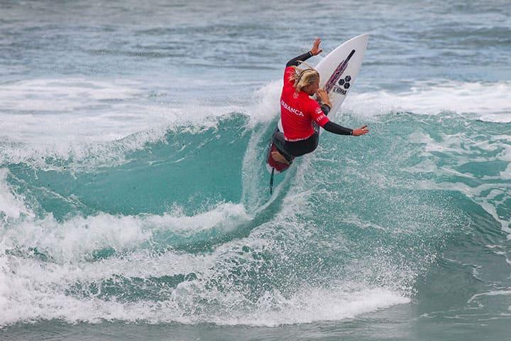 La 'Fábrica de Olas' hace posible el mejor surf en el ABANCA Galicia Classic Surf Pro