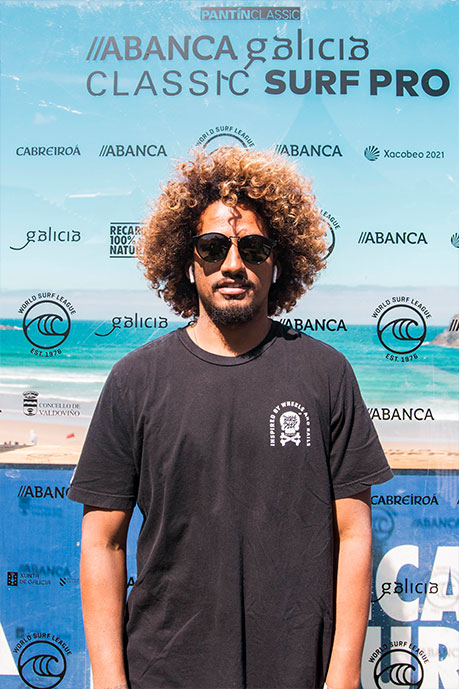 "Carlos Muñoz: ""The ABANCA Galicia Classic Surf Pro is one of my favourite competitions of the  World Surf League circuit"""